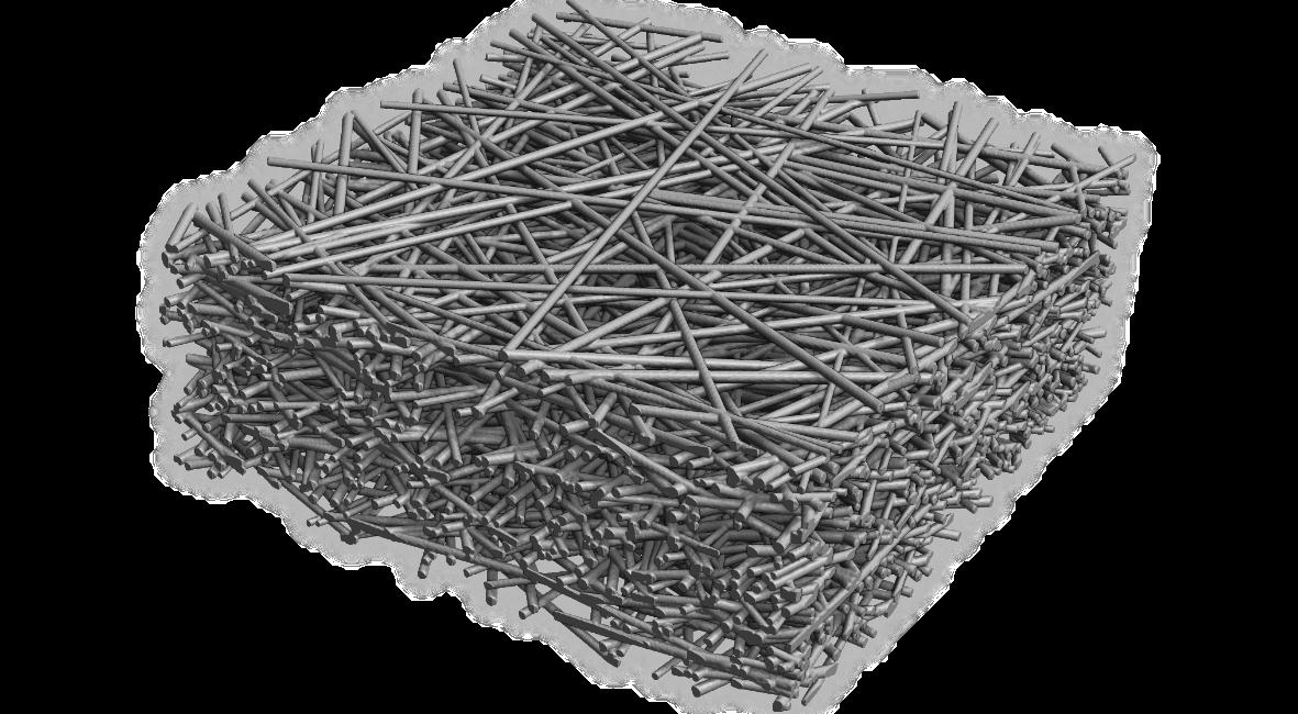 3D-Rendering eines Filtermediums
