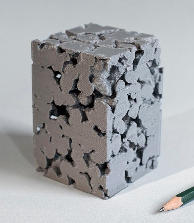 3D Druck eines porösen Sinterkunststoff